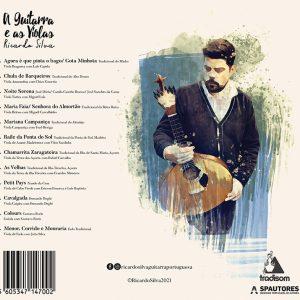 Ricardos Silva CD verso